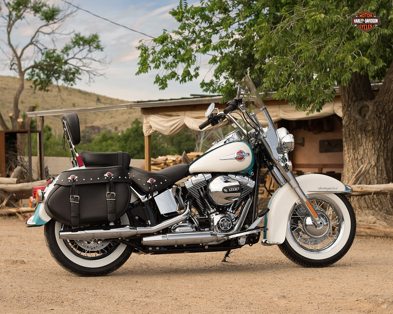 Harley-Davidson FLSTC Heritage Softail Classic ABS