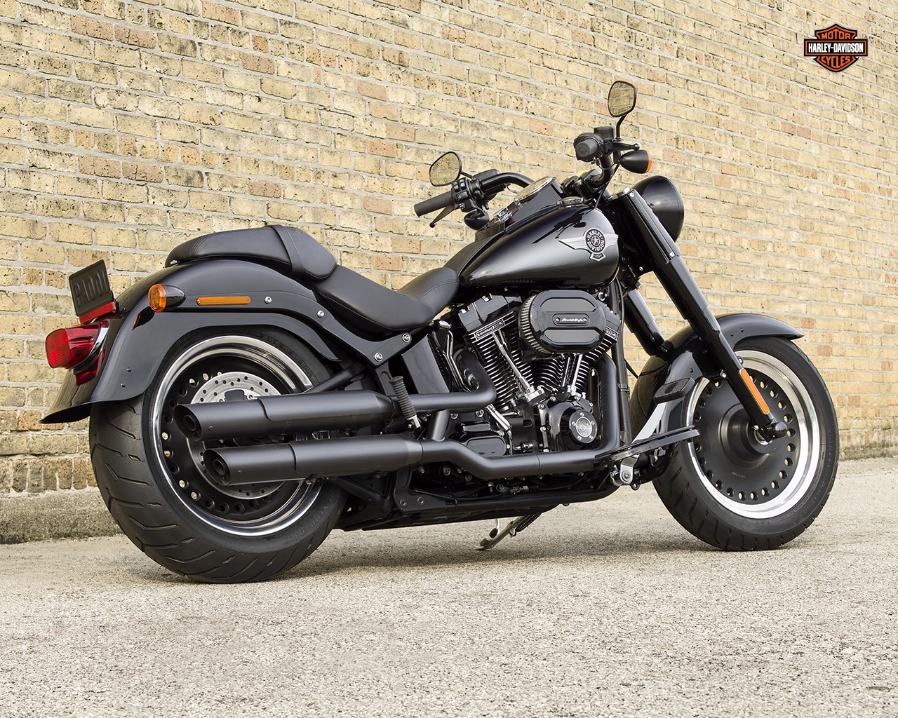 Harley-Davidson FLSTF Fat Boy S